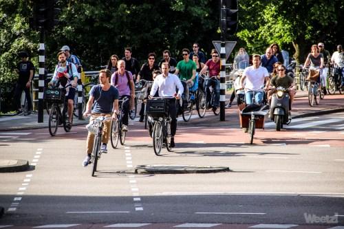 Weelz Cycliste Urbain Amsterdam Pays Bas 7542
