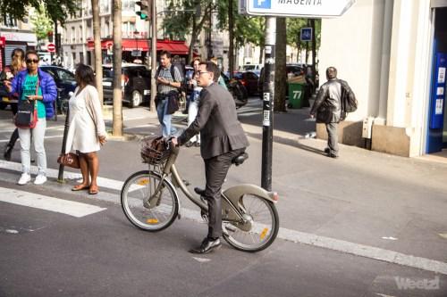 Weelz Velo Cycliste Urbain Paris 23