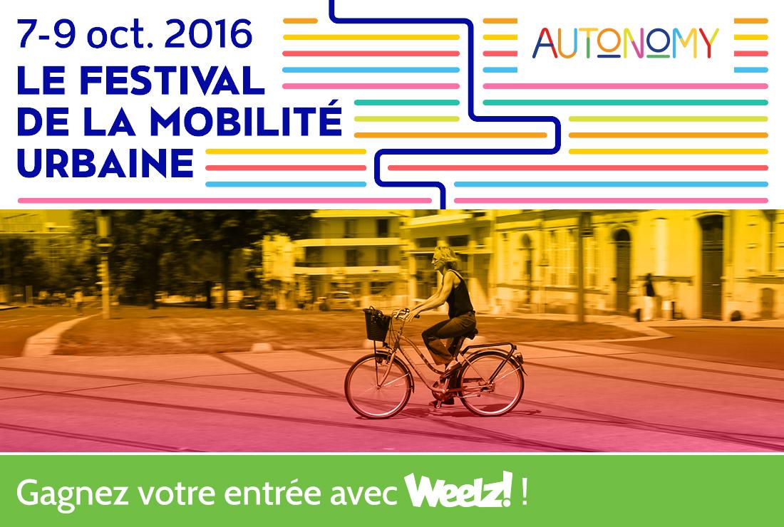 Gagnez vos entrées pour le festival Autonomy Paris !