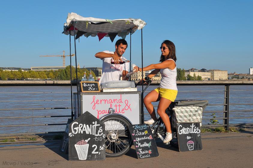 Vélentrepreneur : Fernand & Paulette et le Pop-Cycle