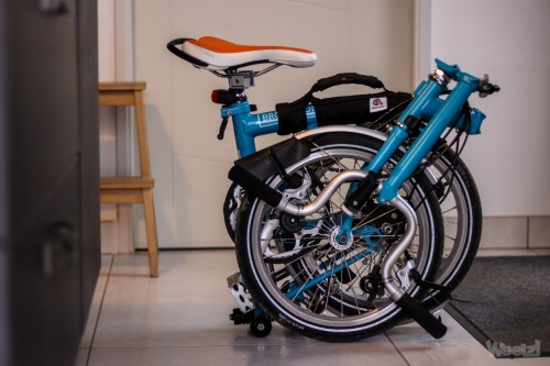 Weelz Test Poignee Brompton Off Yer Bike 9