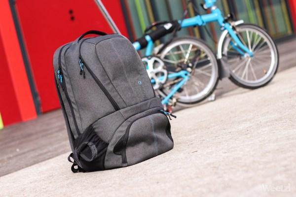 [Test] Sac à dos Karkoa, pour le cycliste urbain nomade organisé