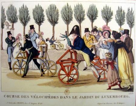 Draisienne : 200 ans de révolution cyclopédique