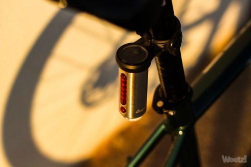 Weelz Test Eclairage Velo Tern Vizy Light 10