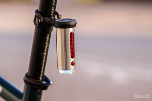 Weelz Test Eclairage Velo Tern Vizy Light 8