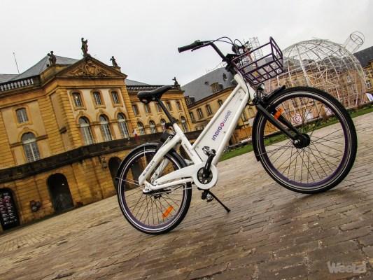 Free floating, lancement du vélo Indigo Weel à Metz