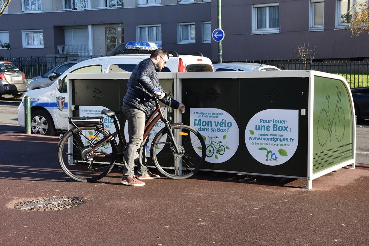 Montigny-lès-Cormeilles, même les petites villes développent la solution vélo