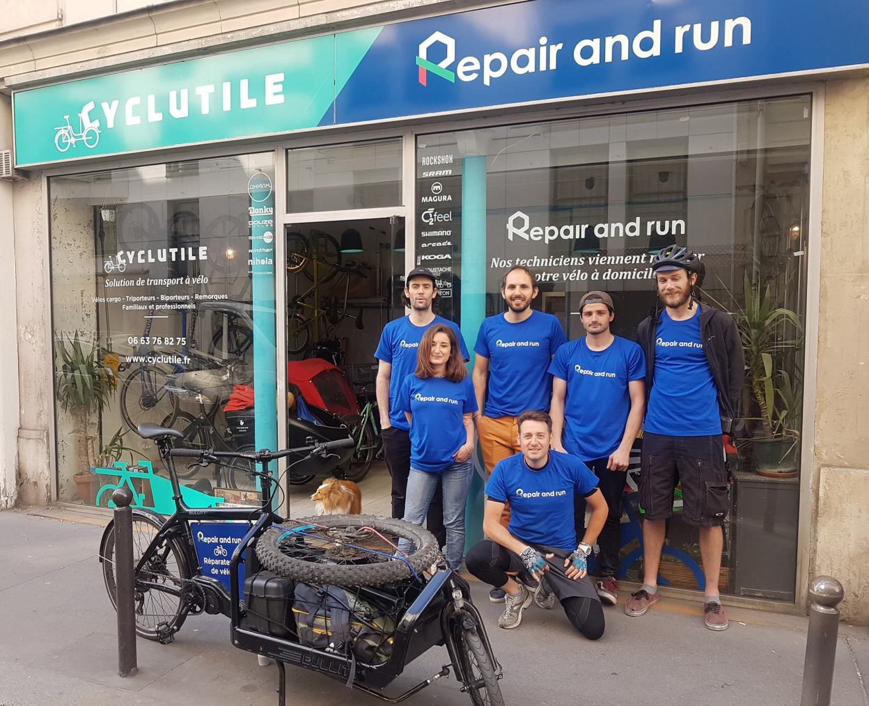 [Interview] Repair and run, la réparation vélo à domicile
