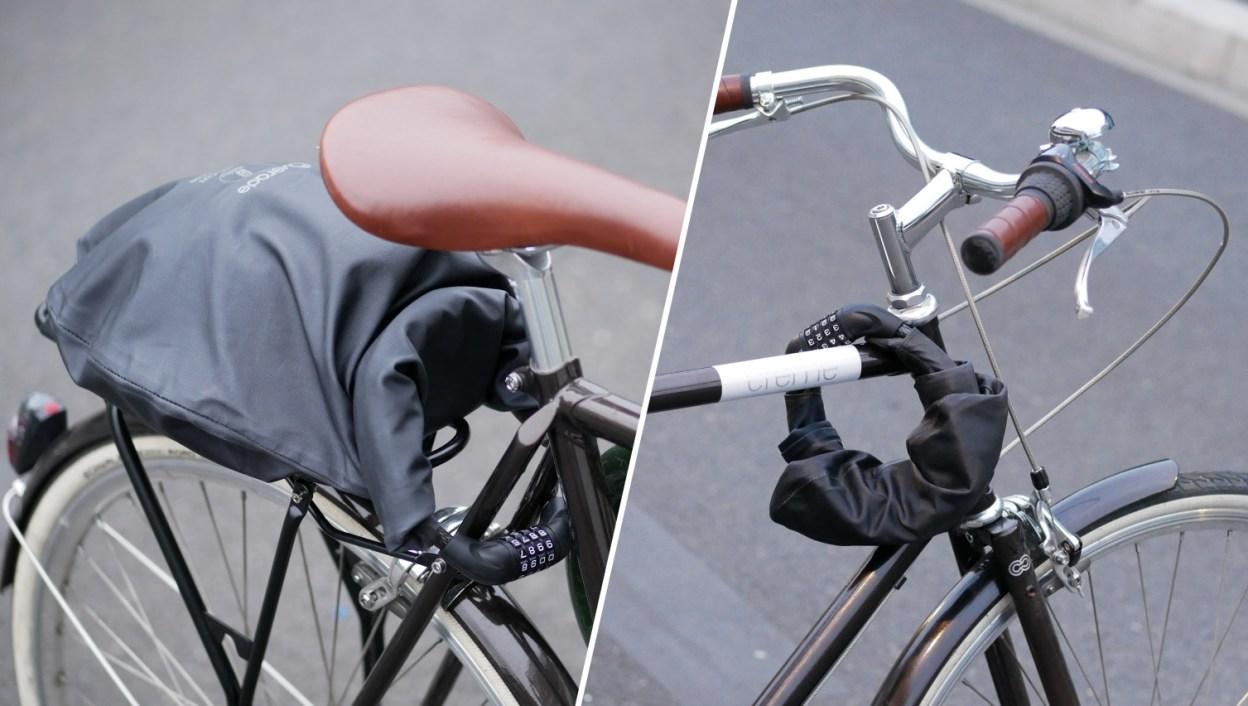 Overade LOXI, sécurisez vos affaires sur le vélo