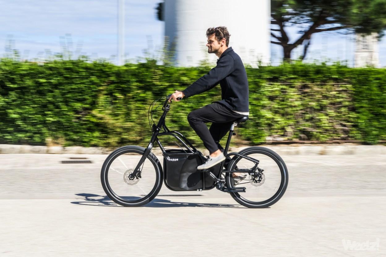 Huppe Bike, le vélo cargo compact de La Rochelle