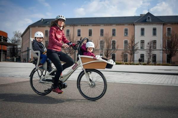 Vélo cargo Oklö, la gamme de Haute-Savoie