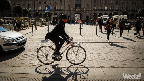 Weelz Rennes Velo Urbain Cycliste In Out Mobilites 3918