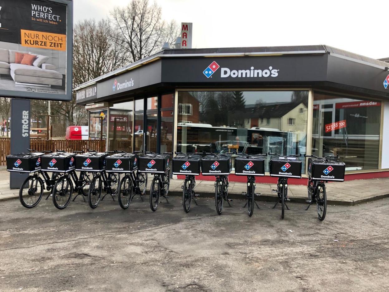 Morio et Domino's Pizza, une affaire connectée qui roule