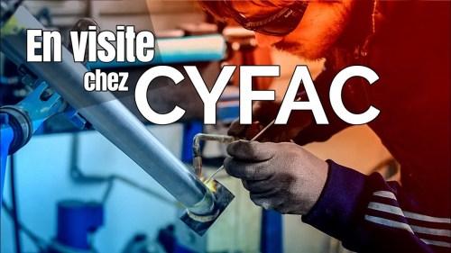 Artisanat Vélo, En Visite Chez CYFAC à La Fuye