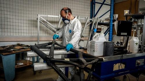 Weelz Visite Fabricant Velo Cadreur Artisan Cyfac Meral La Fuye 11