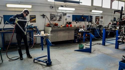 Weelz Visite Fabricant Velo Cadreur Artisan Cyfac Meral La Fuye 51