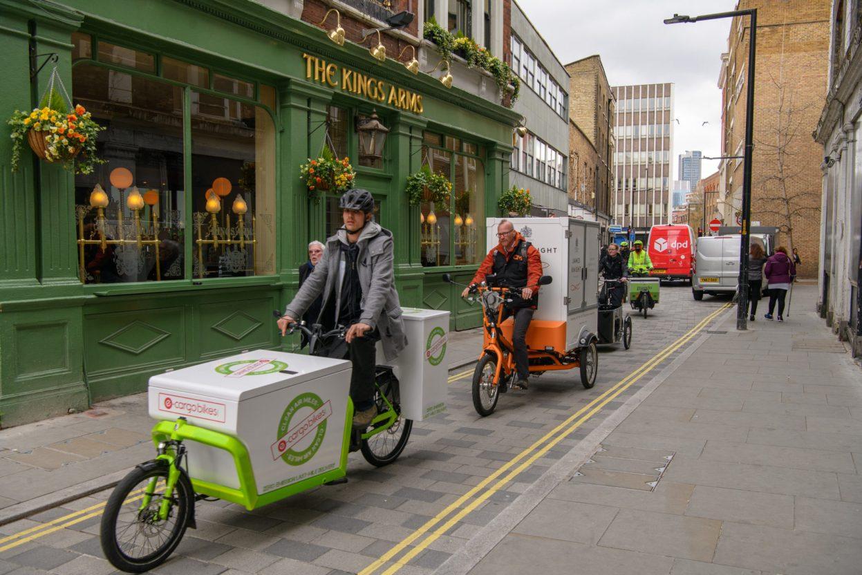 Londres : livraisons en vélo cargo et zone à ultra faibles émissions