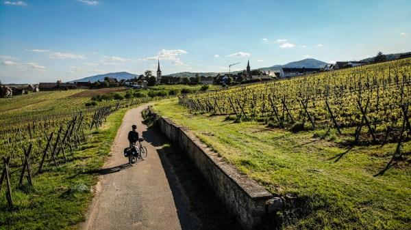 Alsace à vélo, Ep. #1, cyclotourisme sur l'Eurovelo 5