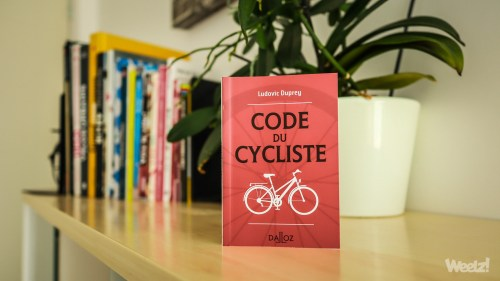 Weelz Livre Code Du Cycliste Ludovic Duprey 2019 9332