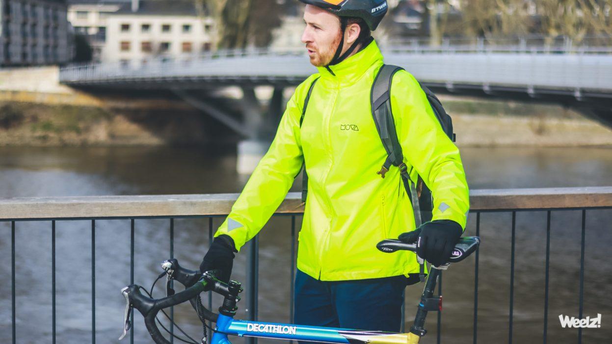 [Test] Veste vélo MOVA 3.0, la smart jacket pour le cycliste quotidien