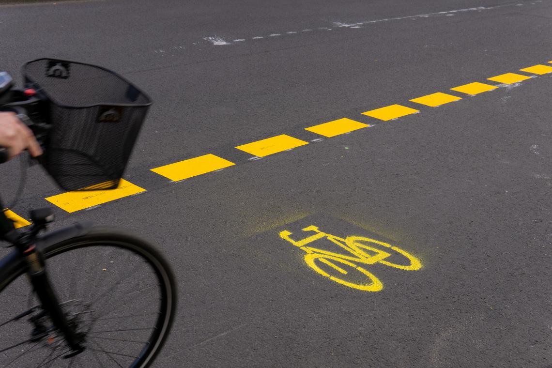 Urbanisme tactique : Réussir sa piste cyclable temporaire en 5 points, avec le Cerema