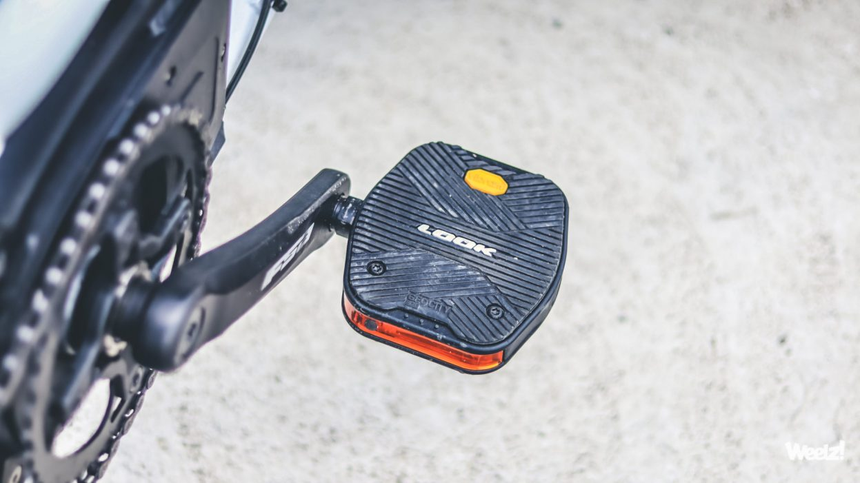 [Test] Pédales LOOK Geo City Grip Vision, adhérence et visibilité