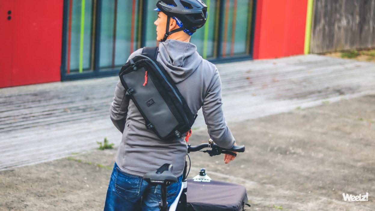 Un sac sling Chrome Kadet [Calendrier de l'avent vélo 2020]