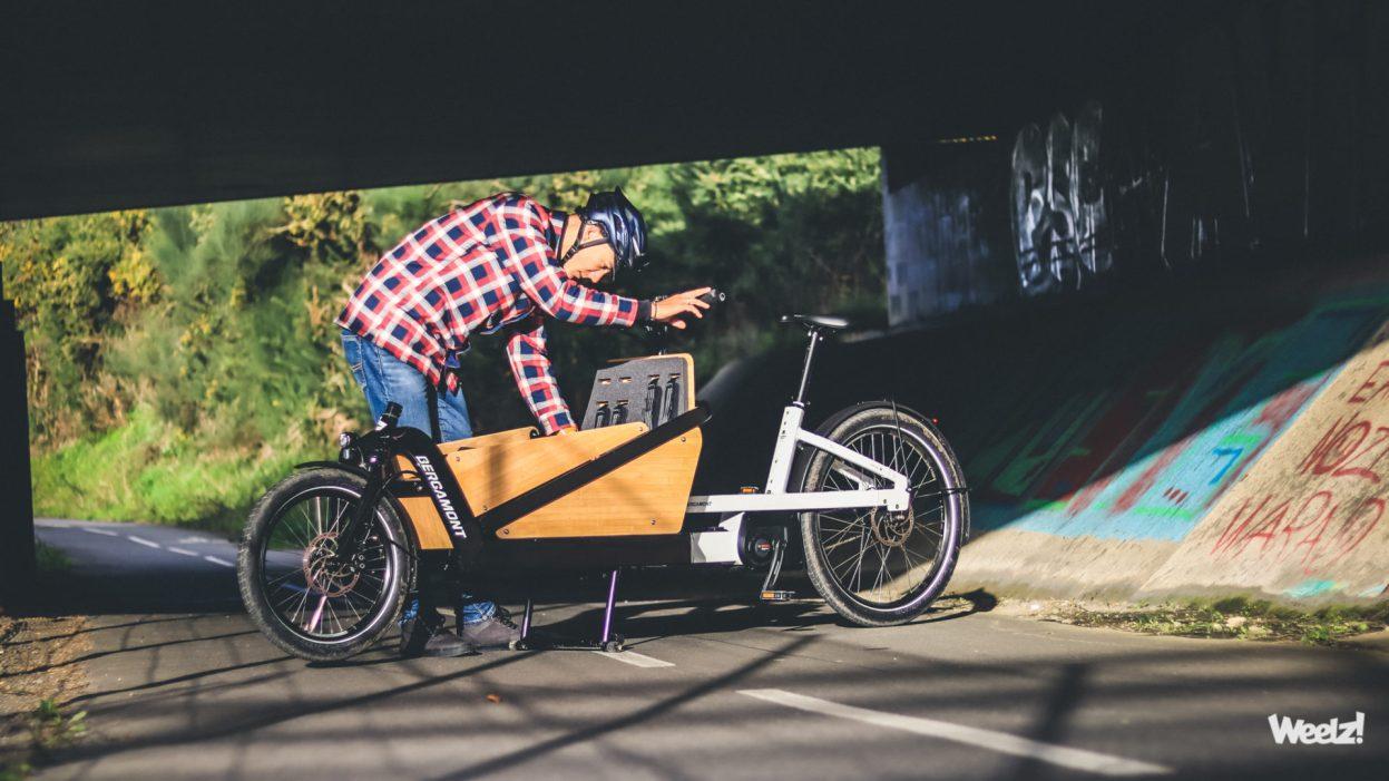 [Test] Vélo cargo Bergamont E-Cargoville LJ, robuste biporteur urbain allemand