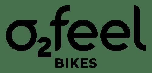 Black Logo O2Feel Bikes