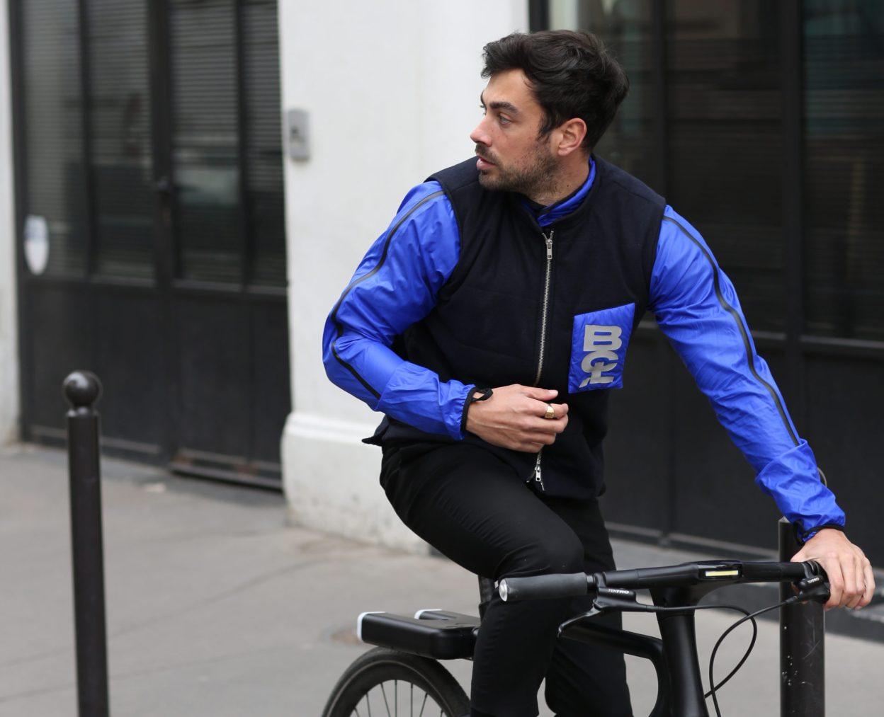 Bouclé, le smart gilet 2-en-1 pour le vélotaf