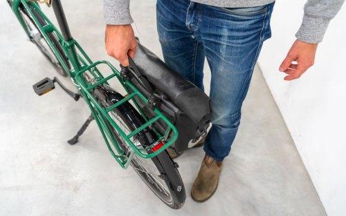 Jean Fourche Porte Bagage Vélo De Ville Pratique Sacoche