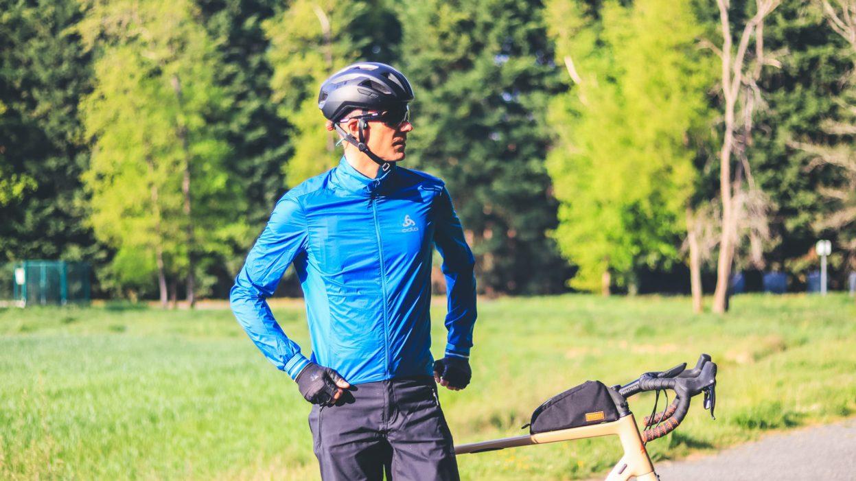 Odlo Zeroweight, une tenue vélo légère qui protège et rafraîchit le cycliste