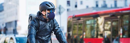 Banniere Cycliste Homme