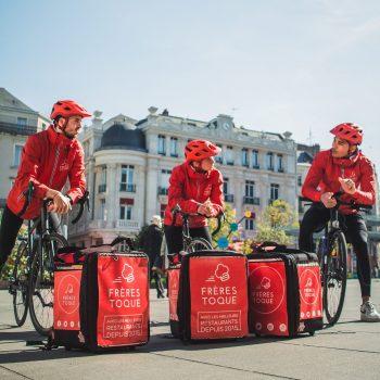 Frères Toque, le restaurant livré à domicile et à vélo à Angers