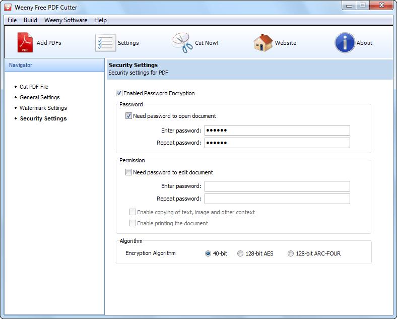 免費PDF切割器軟體截圖