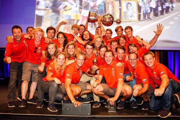 winnend Nuon Solar team 2017 leert wat teamwork is