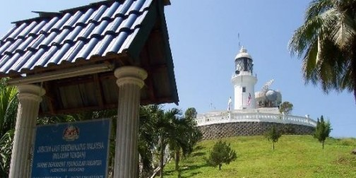 Lighted Lighthouse port dickson
