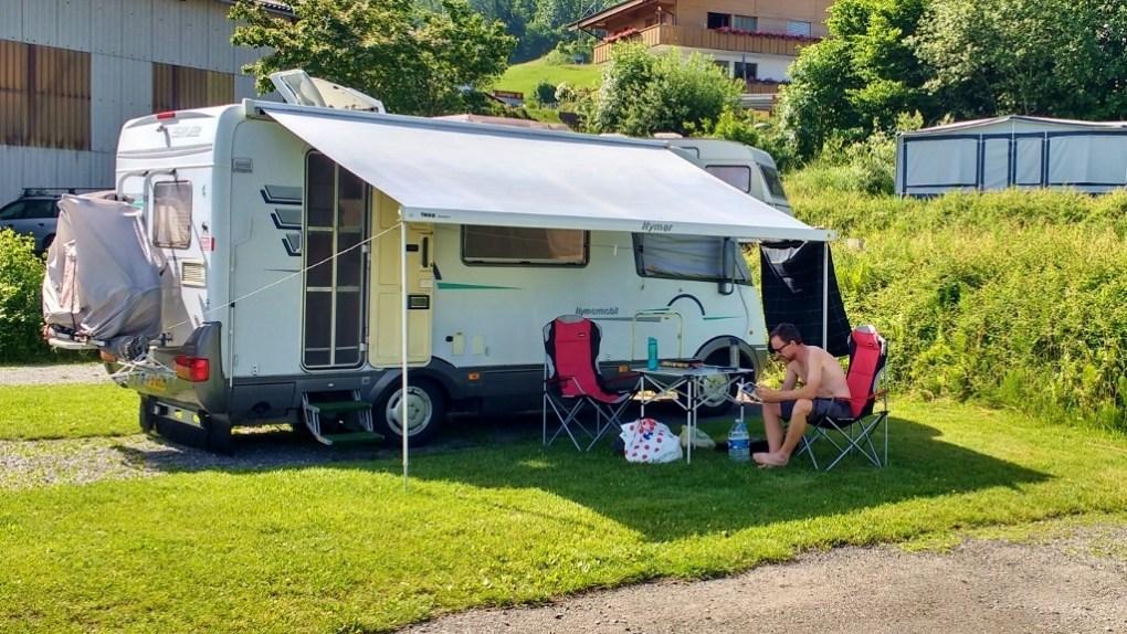 caravan heatwave