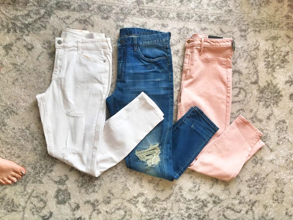 Capsule Wardrobe How to Get Started: Denim