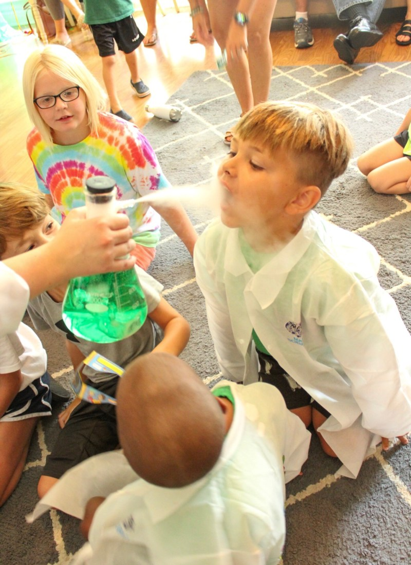 The Bigs 5th and 6th Mad Science Birthday Party