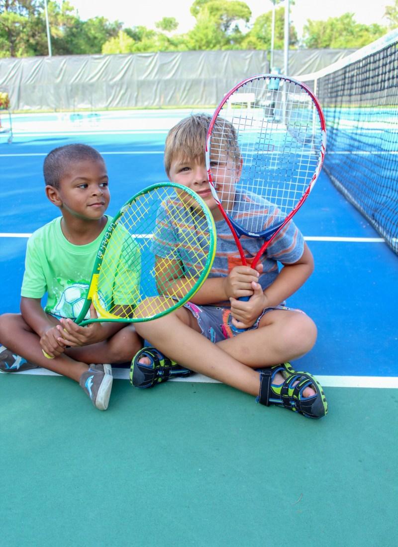 Our Summer in Junior Tennis