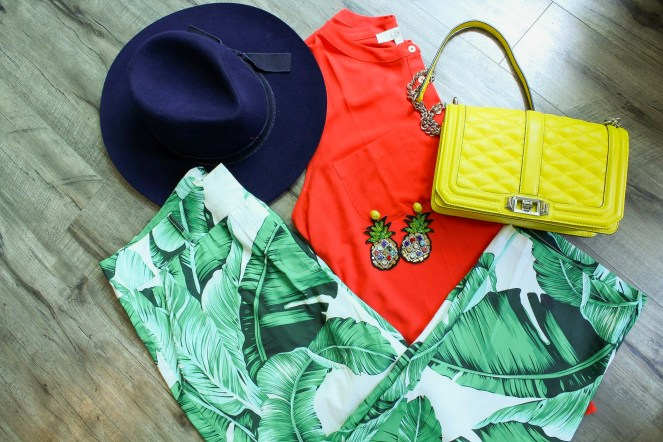 Combining bright colors in the summer is fun and can be a great way to use your exsisiting wardrobe in a new way.