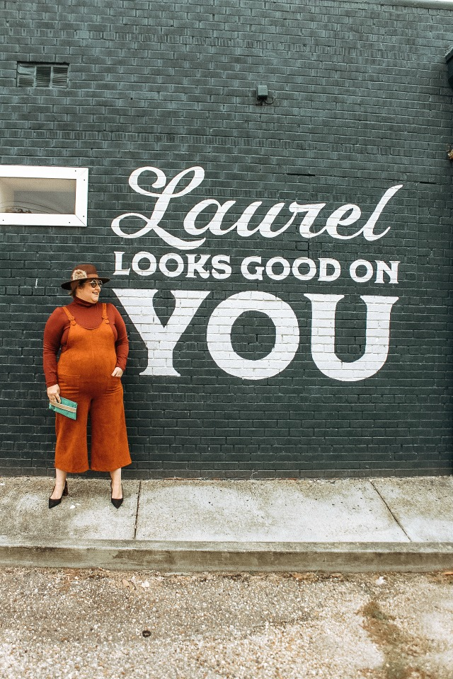 Laurel looks good on you mural