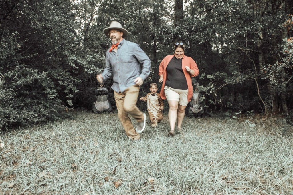 Jurassic Park Family Halloween Costumes