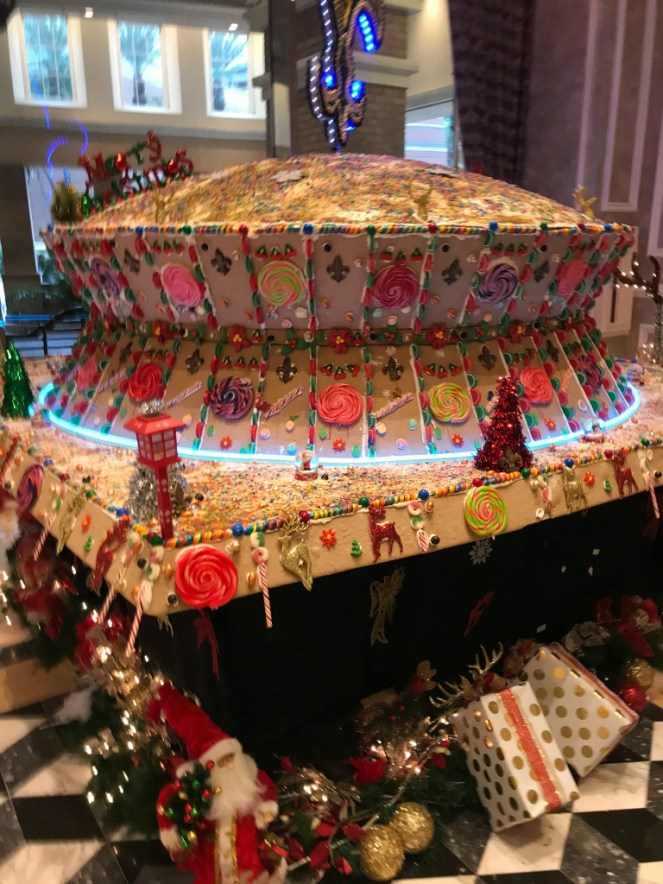 Lowes Hotel Gingerbread house