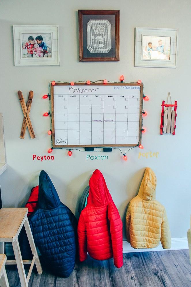 Boys Calendar and Coats