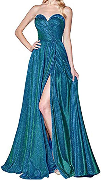 Blue Green Mermaid Dress from Amazon