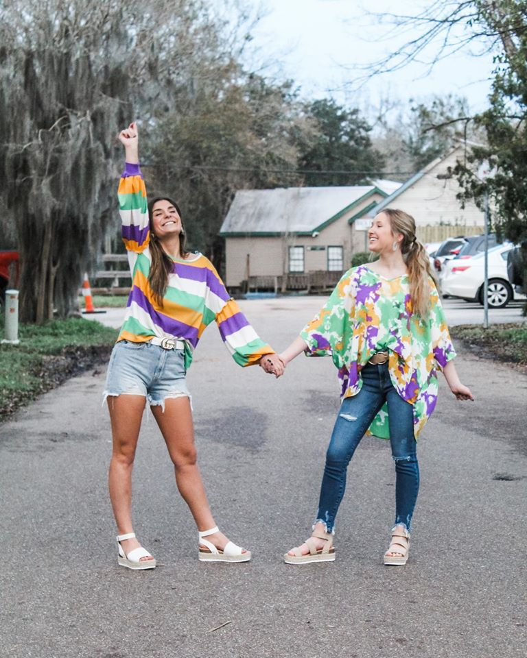 Jenlyn's Boutique Mardi Gras Shirts