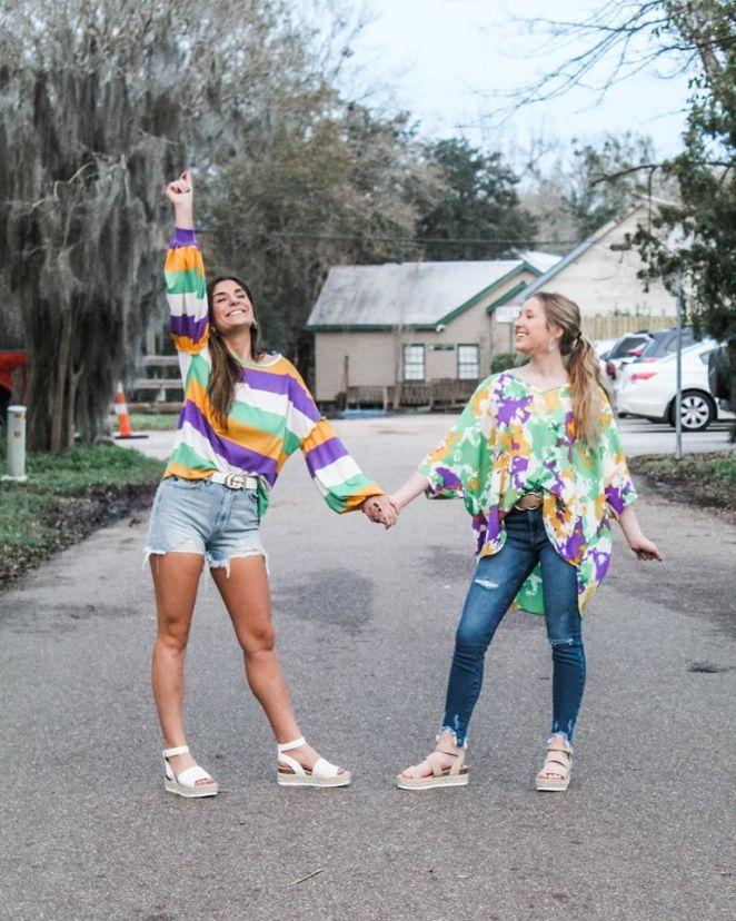 Jenlyn's Boutique Mardi Gras Shirts
