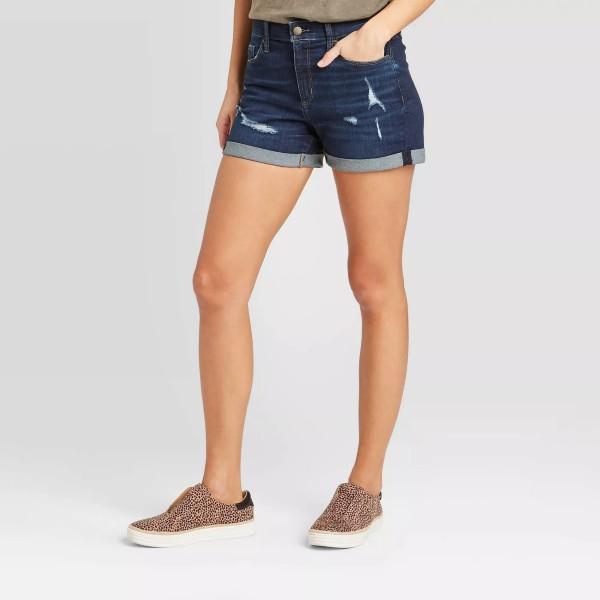 Universal Thread Distressed Denim Shorts
